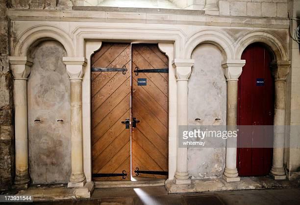 vestry door - ajar stock pictures, royalty-free photos & images