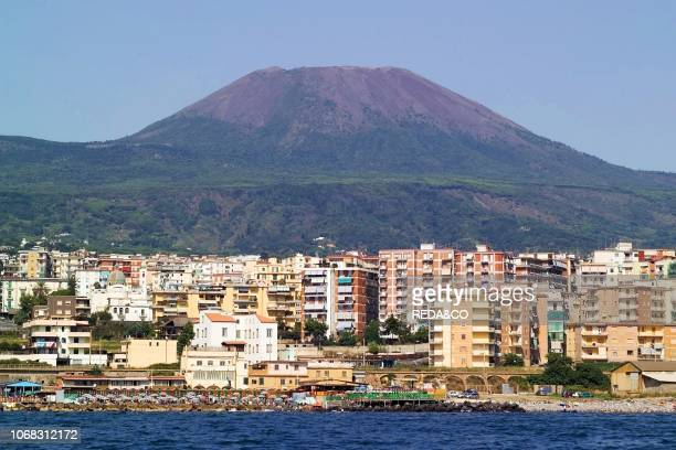 Vesuvian coast Portici Ercolano Torre del Greco Gulf of Naples Campania Italy