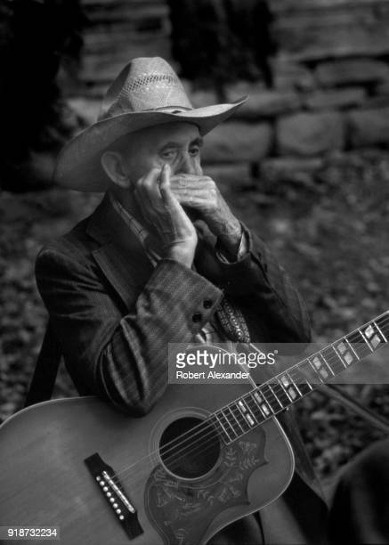 A veteran Appalachian musician rehearses before taking the stage at the Museum of Appalachia in Norris Tennessee The annual festival showcases...