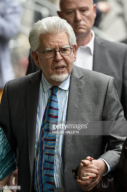 Veteran Australian artist and entertainer Rolf Harris leaves Southwark Crown Court in central London on June 30 2014 Veteran entertainer Rolf Harris...