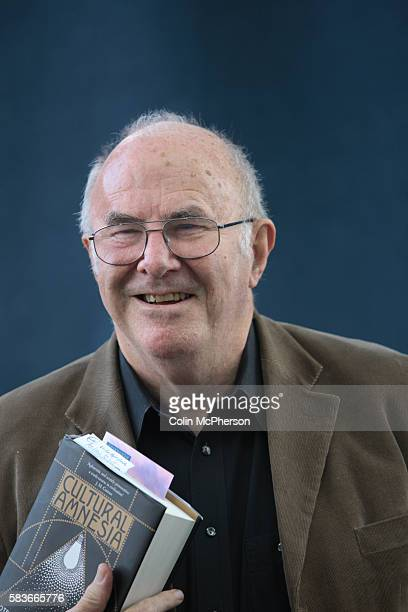 Veteran Australian writer and broadcaster Clive James pictured at the Edinburgh International Book Festival where he talked about his recent book...