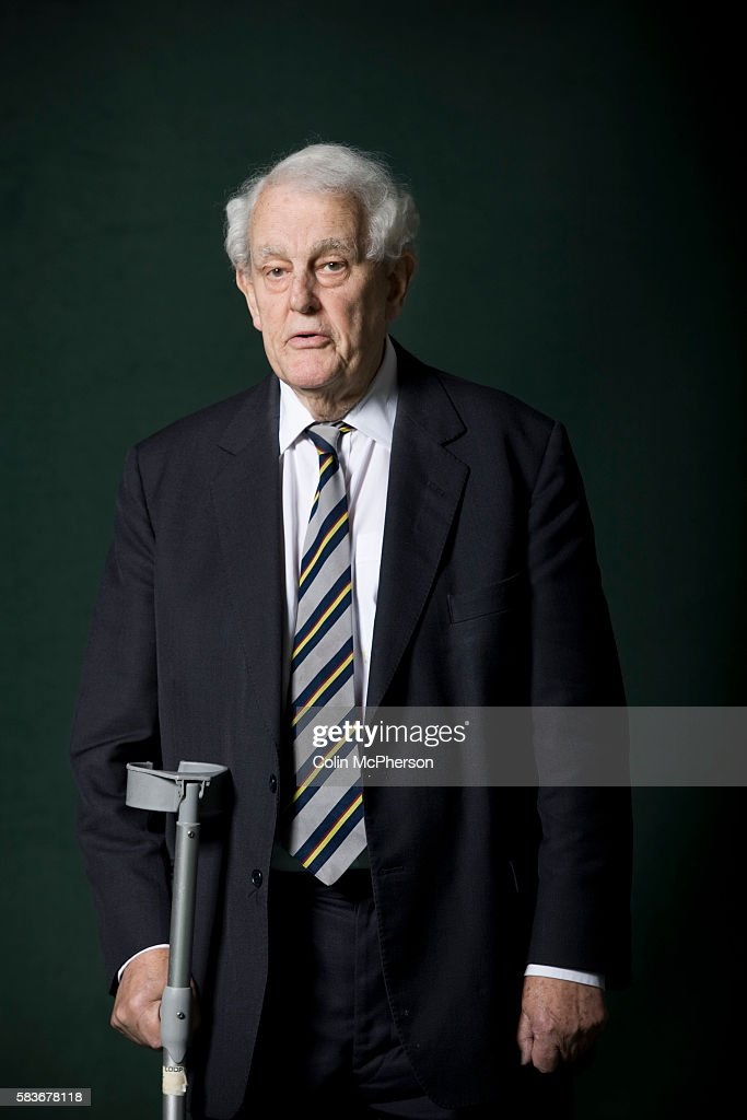 Veteran British Labour party parliamentarian Tam Dalyell, pictured at the Edinburgh International Book Festival where he talked about his career in Westminster politics. The three-week event is the world's biggest literary festival and is held during the annual Edinburgh Festival. The 2011 event featured talks and presentations by more than 500 authors from around the world.