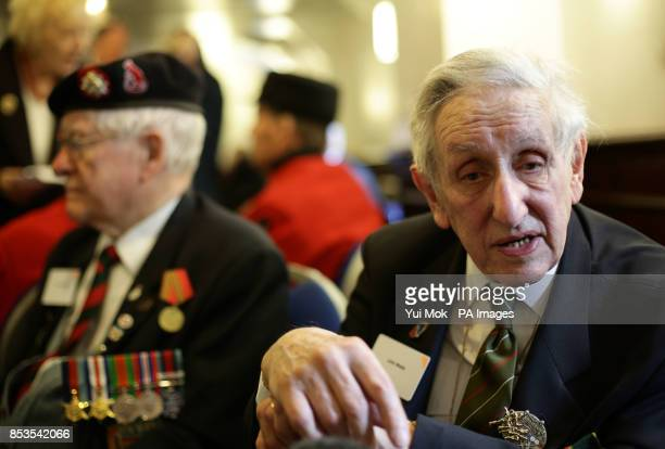 Veteran John Webb on board HMS Belfast in London during a ceremony for DDay veterans which featured a flypast over the River Thames The ship was one...