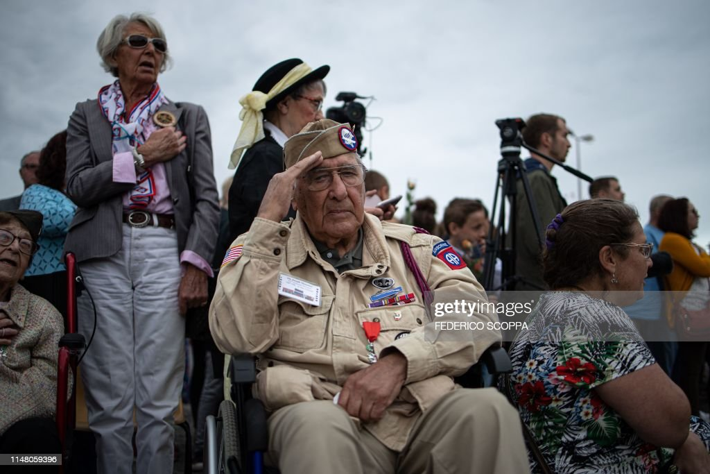 FRANCE-US-WWII-DDAY-ANNIVERSARY : News Photo