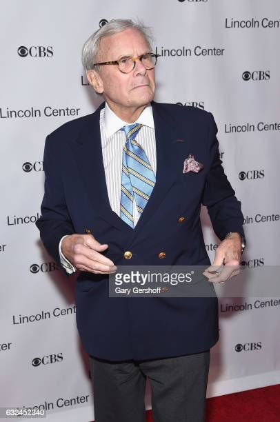 Veteran journalist Tom Brokaw attends the 2017 American Songbook gala at Alice Tully Hall Lincoln Center on February 1 2017 in New York City
