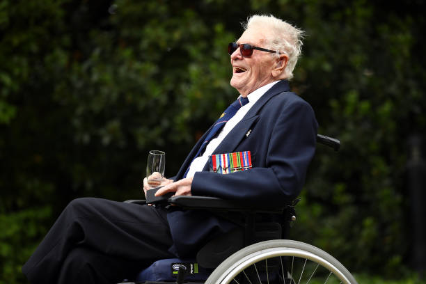 GBR: 96 Year Old DDay Veteran Completes Commemorative Cycle Challenge