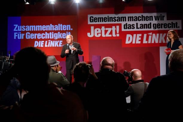DEU: Die Linke React To Initial Election Results