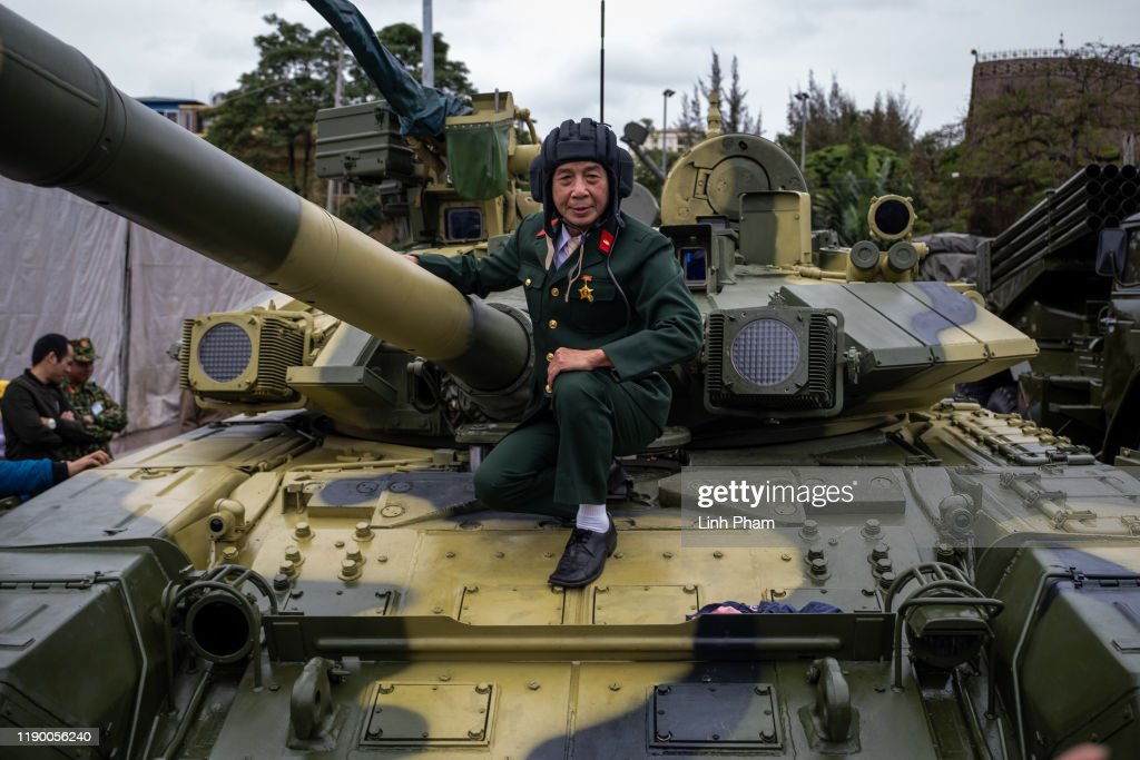 Vietnam's Military Display In Thai Nguyen : News Photo