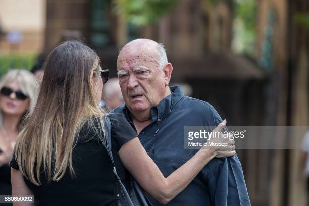 Veteran promoter Michael Chugg attends the funeral service for AC/DC cofounder Malcolm Young at St Mary's Cathedral on November 28 2017 in Sydney...
