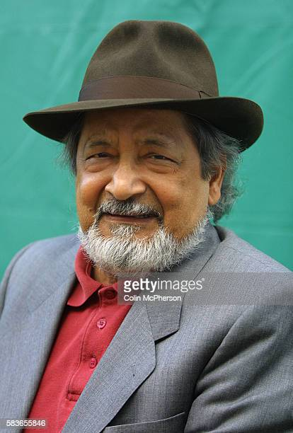 Veteran Trinidadian author, V.S. Naipaul, pictured at the Edinburgh International Book Festival where he gave a preview on his latest novel, 'Half a...