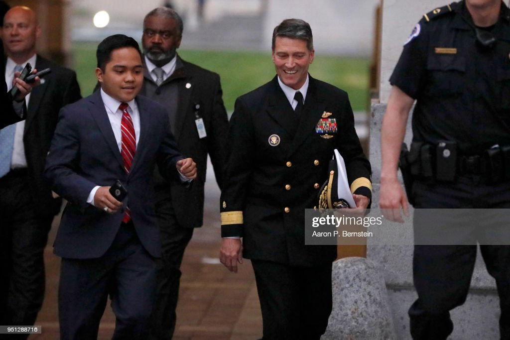 Veterans Affairs Secretary Nominee Dr. Ronny Jackson Meets With Sen. Tillis