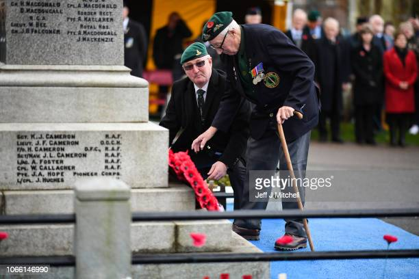 Veterans and serving members of the armed forces gather to commemorate and pay respect to the sacrifice of service men and women who fought in the...