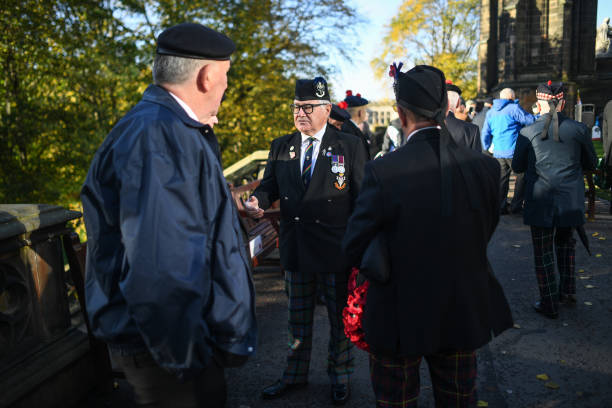 GBR: Garden Of Remembrance Dedicated In Edinburgh