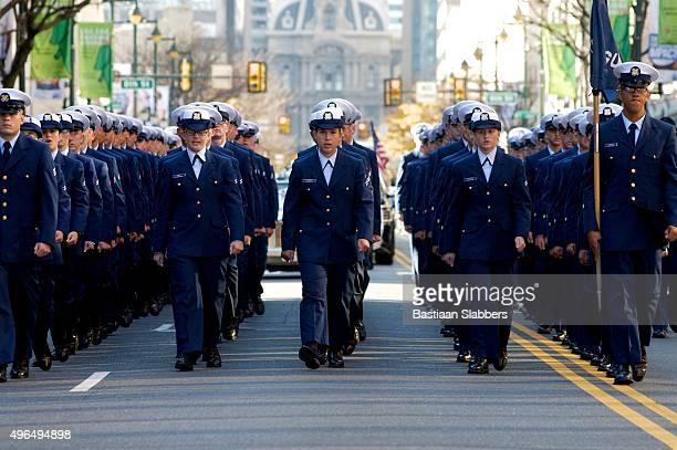 u.s. veteran's day parade, philadelphia, pa - veterans day parade stock photos and pictures
