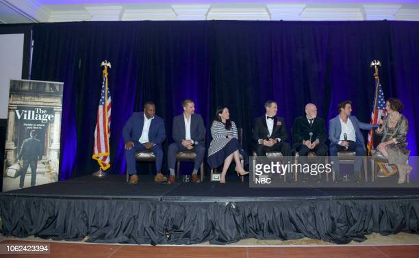 THE VILLAGE Veteran's Day Screening and Panel Discussion of The Village Pictured Jamel Daniels Veteran/Military Consultant Warren Christie Jessica...