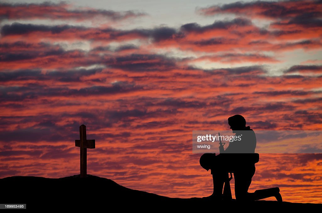 Veterans' Day Soldier : Stock Photo