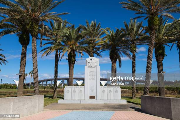 Veterans Memorial in Riverfront Park, Daytona beach, Florida