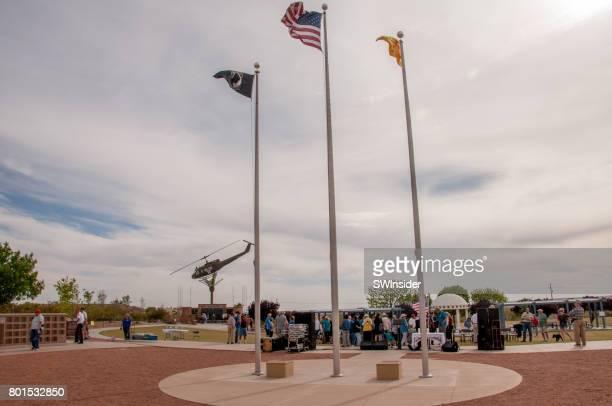 veterans memorial park in las cruces, new mexico - las cruces new mexico stock pictures, royalty-free photos & images