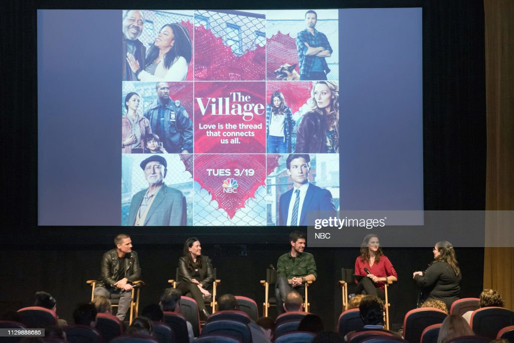 "CA: NBC'S ""Veterans Network Screening and Panel Discussion of The Village"""