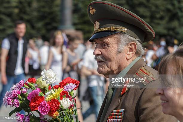 CONTENT] Veterans of World War II celebrating Victory Day
