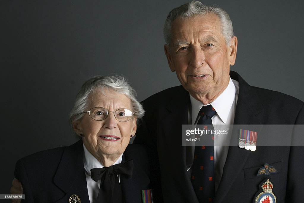 WWII Veterans : Stock Photo
