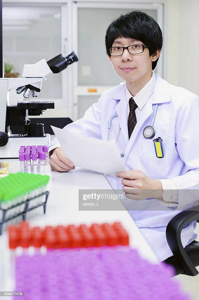 veterinarian doctor working : Stock Photo