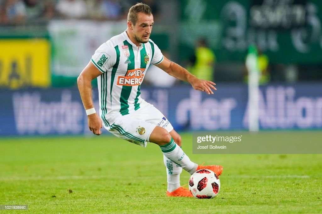 Veton Berisha of Rapid during the - UEFA Europa League ...