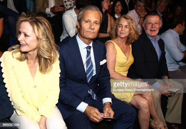 Veva Longoria Javier Merino Maria Suelves and Pascua Ortega attend the Roberto Torretta fashion show at Mercedes Benz Fashion Week Madrid Spring/...