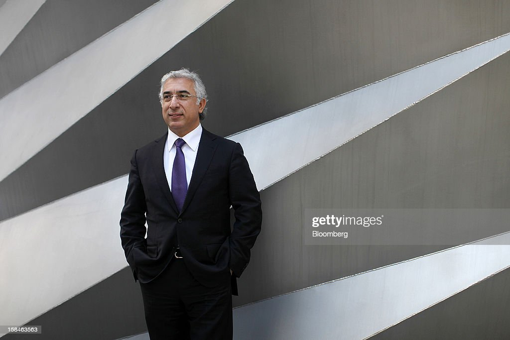 Veysel Aral, chief executive officer of Kcell, a unit of TeliaSonera AB, poses for a photograph following the launch of the company's initial public offering (IPO), in London, U.K., on Monday, Dec. 17, 2012. Kcell, which has 11.6 million subscribers, is the largest operator in Kazakhstan with a subscriber market share of about 48 percent and a revenue market share of 57 percent, Aral said. Photographer: Simon Dawson/Bloomberg via Getty Images