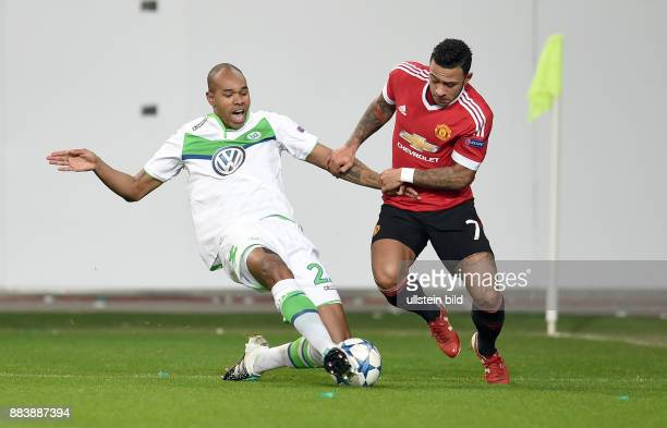 FUSSBALL CHAMPIONS VfL Wolfsburg Manchester United Naldo gegen Memphis Depay