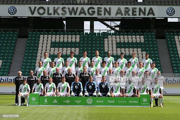 VfL Wolfsburg Saison 2013/14 hier $Rvl Ivan Perisic Robin Knoche Timm Klose Stefan Kutschke Bas Dost Nado Felipe Lopes Rasmus Jönsson Tolga Cigerci...