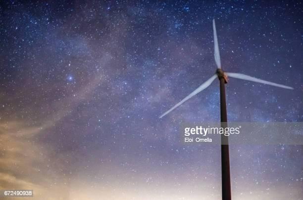 via lactea windmill milkyway milky way space turbine generation cross