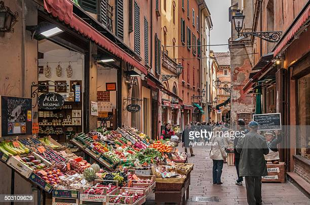 CONTENT] Via Pescherie Vecchie is the Bologna's most lively market located just of Piazza Maggiore the main square