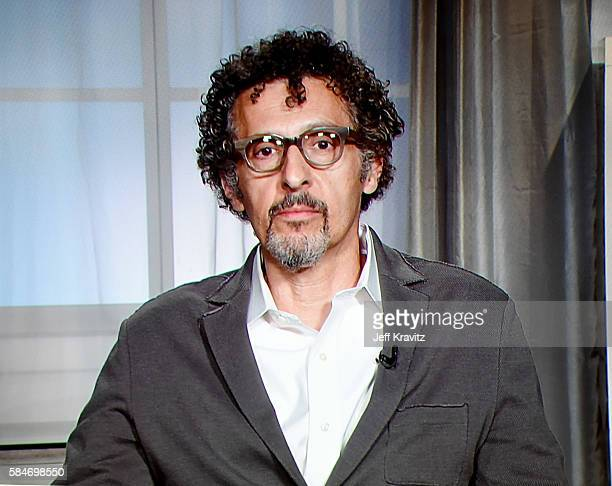 Via satellite actor John Turturro speaks onstage during the 'The Night Of' panel discussion at the HBO portion of the 2016 Television Critics...