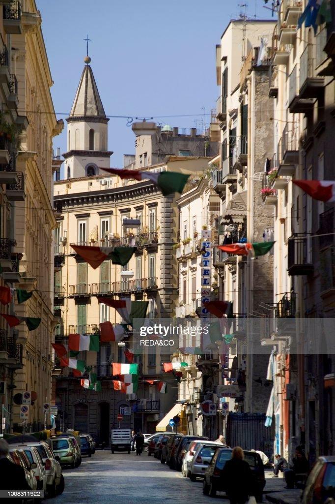 Via Sedile Di Porto.Via Sedile Di Porto Naples Campania Italy News Photo