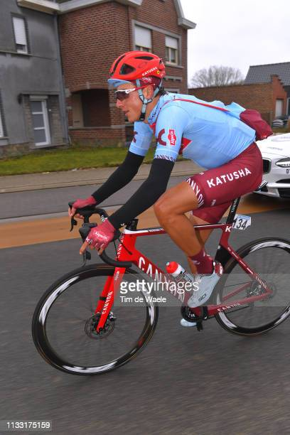 Viacheslav Kuznetsov of Russia and Team Katusha Alpecin / during the 74th Omloop Het Nieuwsblad 2019 a 200km race from Gent to Ninove / FLanders...