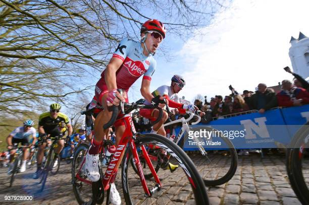 Viacheslav Kuznetsov of Russia and Team Katusha Alpecin / during the 80th Gent-Wevelgem In Flanders Fields 2018 a 250,8km race from Deinze to...