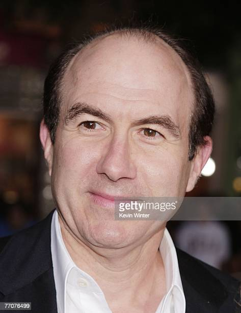 Viacom CEO Philippe Dauman arrives at the premiere of DreamWork's The Heartbreak Kid at the Mann's Village Theater on September 27 2007 in Los...