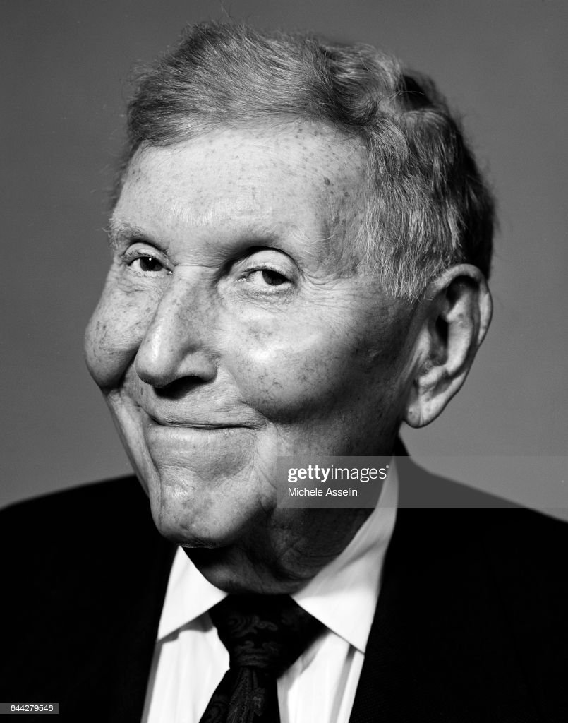 Sumner Redstone, Portrait Session, April 2, 2004