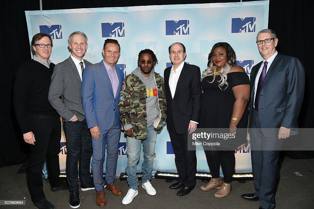 2016 MTV Upfront at Skylight At Moynihan Station