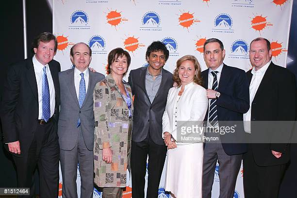Viacom Tom Dooley CEO Viacom Inc Philipe Dauman President Nickelodeon Viacom Consumer Products Leigh Anne Brodsky Director M Night Shyamalan...
