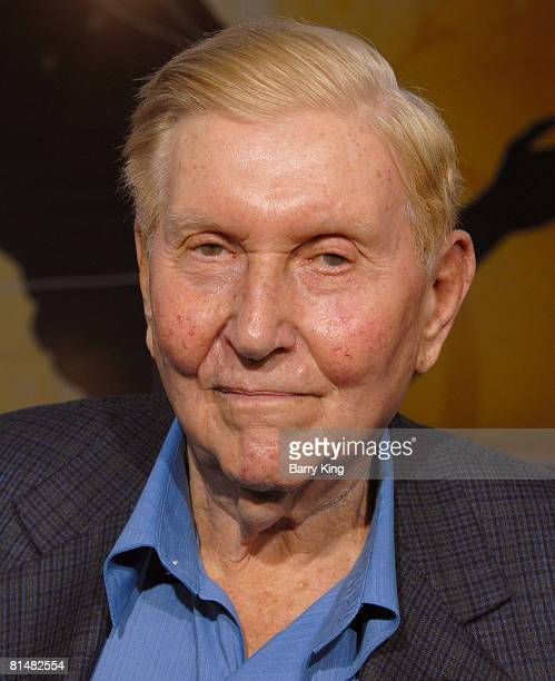 Viacom's Sumner Redstone arrives to the Iron Man premiere at Grauman's Chinese Theatre on April 30 2008 in Hollywood California