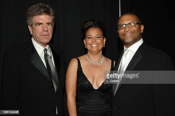 Viacom's Tom Freston Debra Lee BET CEO and President and Reginald Hudlin BET President of Entertainment