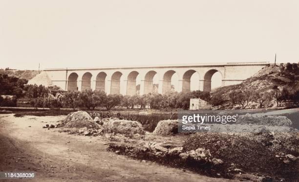 Viaduc de Bandol 1859 or after Albumen silver print from paper negative Image 265 x 43 cm Photographs ƒdouard Baldus