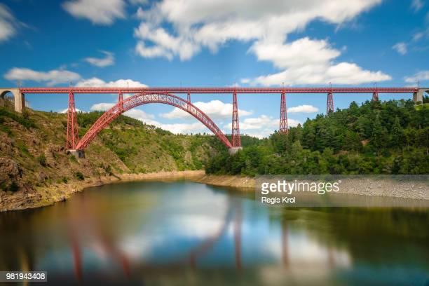 viaduc de garabit - viaduct stock pictures, royalty-free photos & images