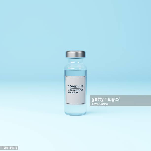 vial with covid-19 coronavirus vaccine - bottle stock pictures, royalty-free photos & images