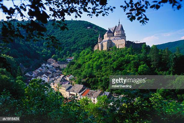 vianden, luxembourg, benelux - luxembourg benelux stock pictures, royalty-free photos & images