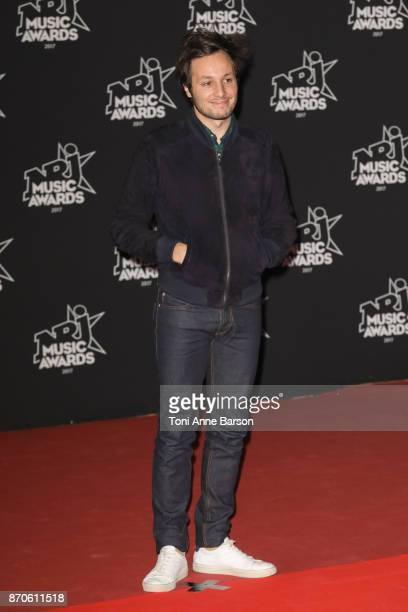 Vianney arrives at the 19th NRJ Music Awards ceremony at the Palais des Festivals on November 4 2017 in Cannes France