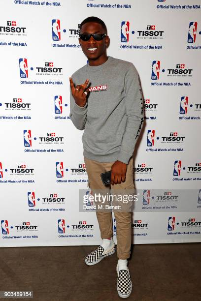 Vianni attends The Tissot x NBA Launch Party at BEAT on January 10 2018 in London England