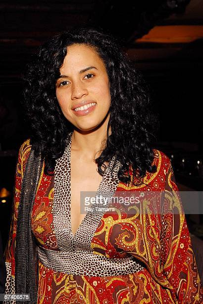 Vibe Magazine EditorInChief Mimi Valdes attends Fat Joe and Lorena Cartagena's Baby Shower at Cain on April 23 2006 in New York City